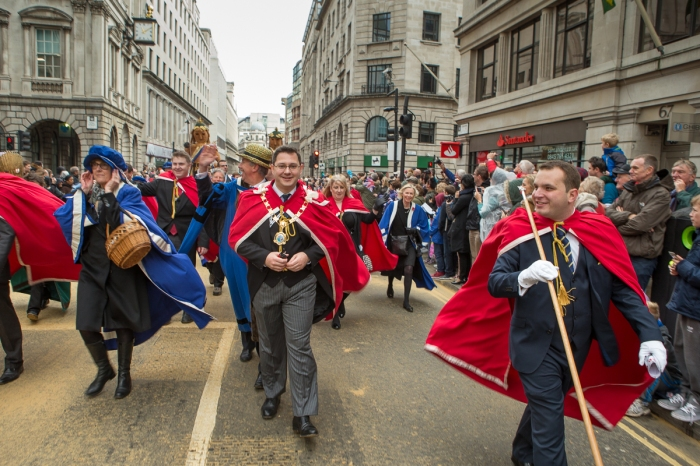 Lord Mayor's Procession 2014